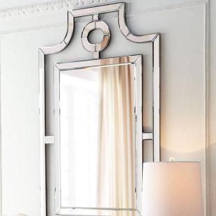 现代简约创意镜面家具欧式玻璃卫浴镜化妆镜穿衣镜装饰镜可定制